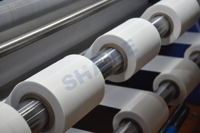 Ultrasonic slit mesh ribbons